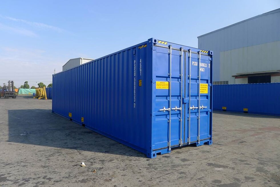 40 x 8 High Cube Shipping Container
