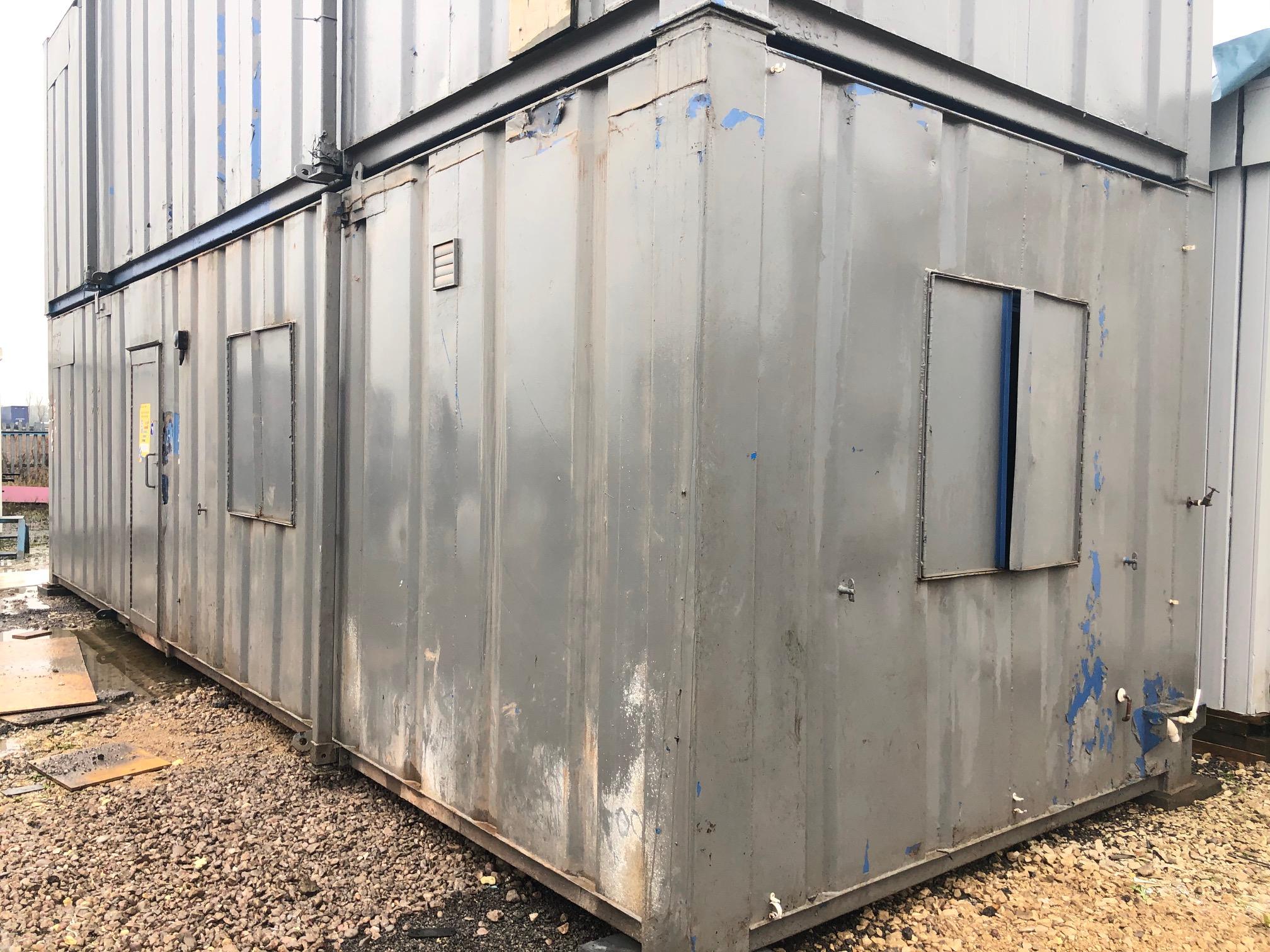 32' x 10' Anti Vandal Canteen