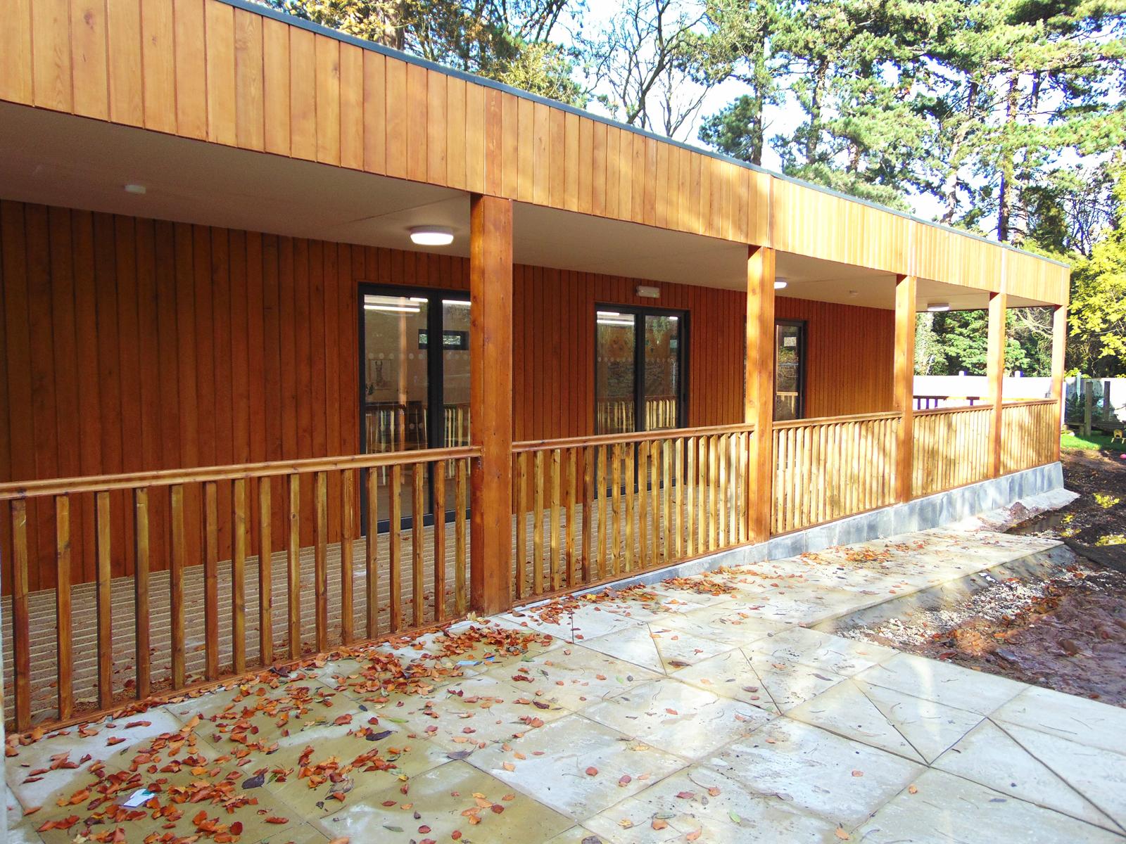 Modular Nursery Exterior
