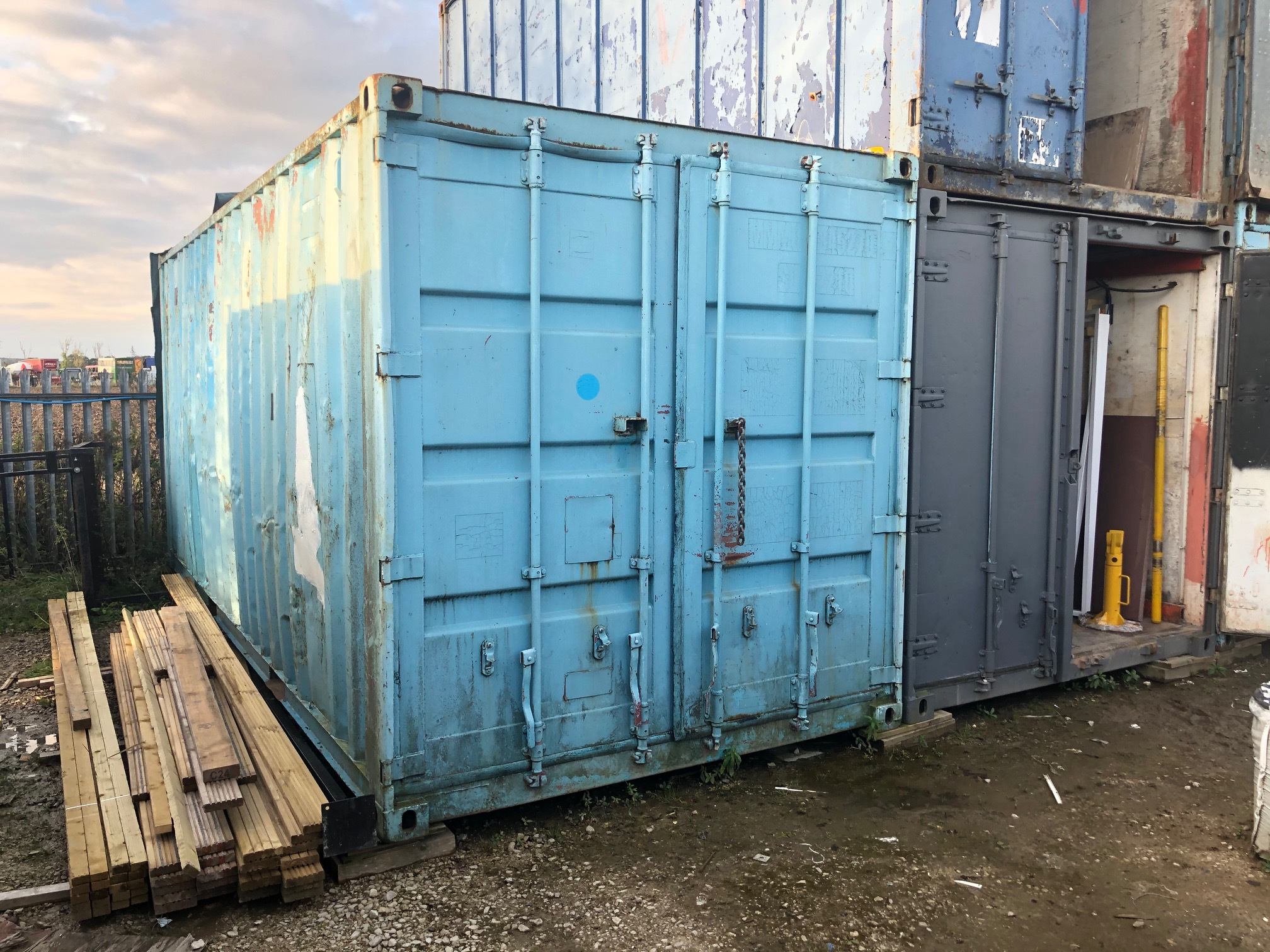 20 x 8 Shipping Container
