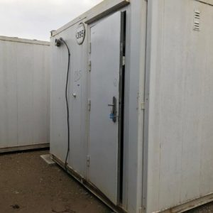 24 x 9 Used Anti Vandal Changing Room