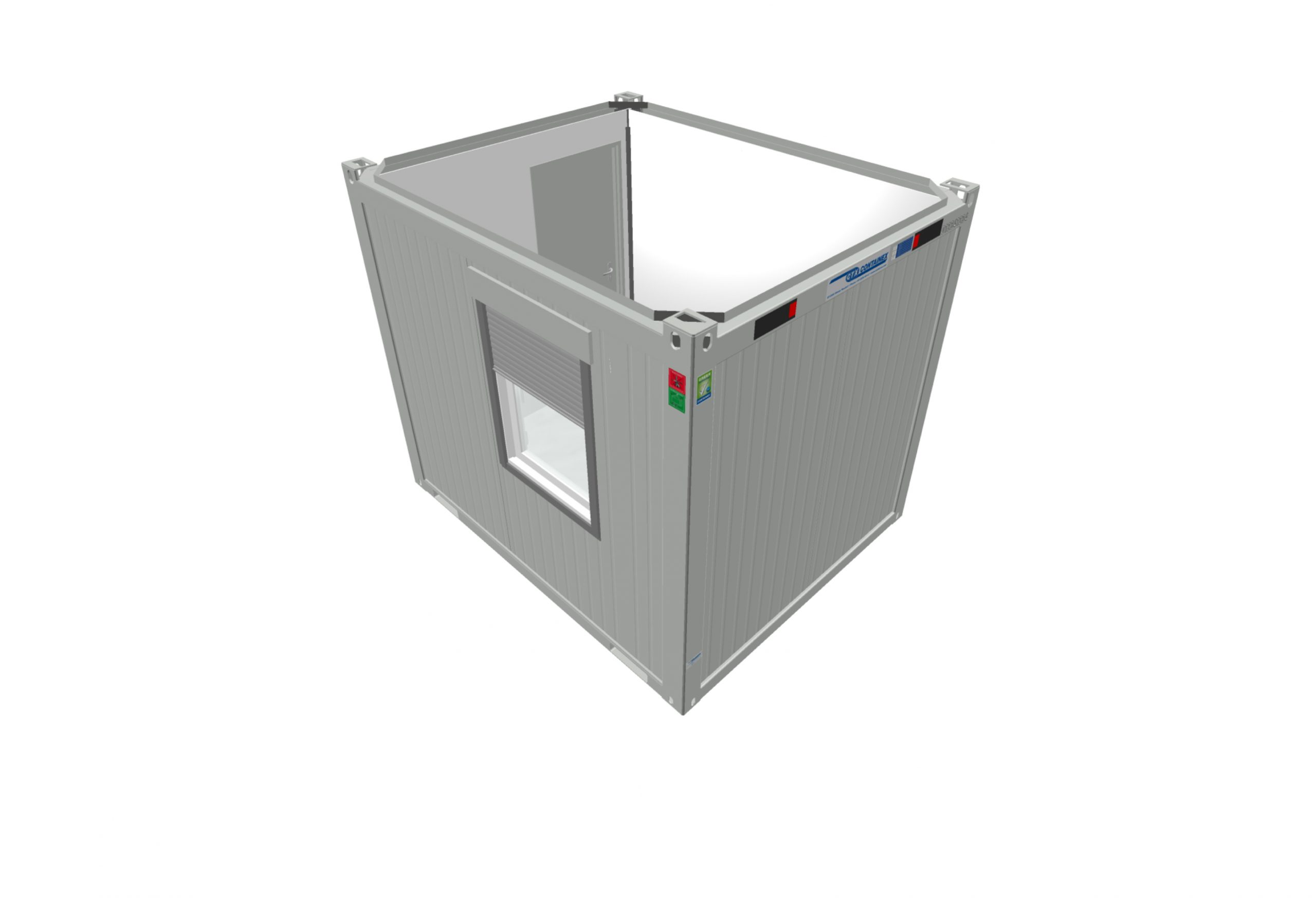 10 x 8 Secure Portable Office