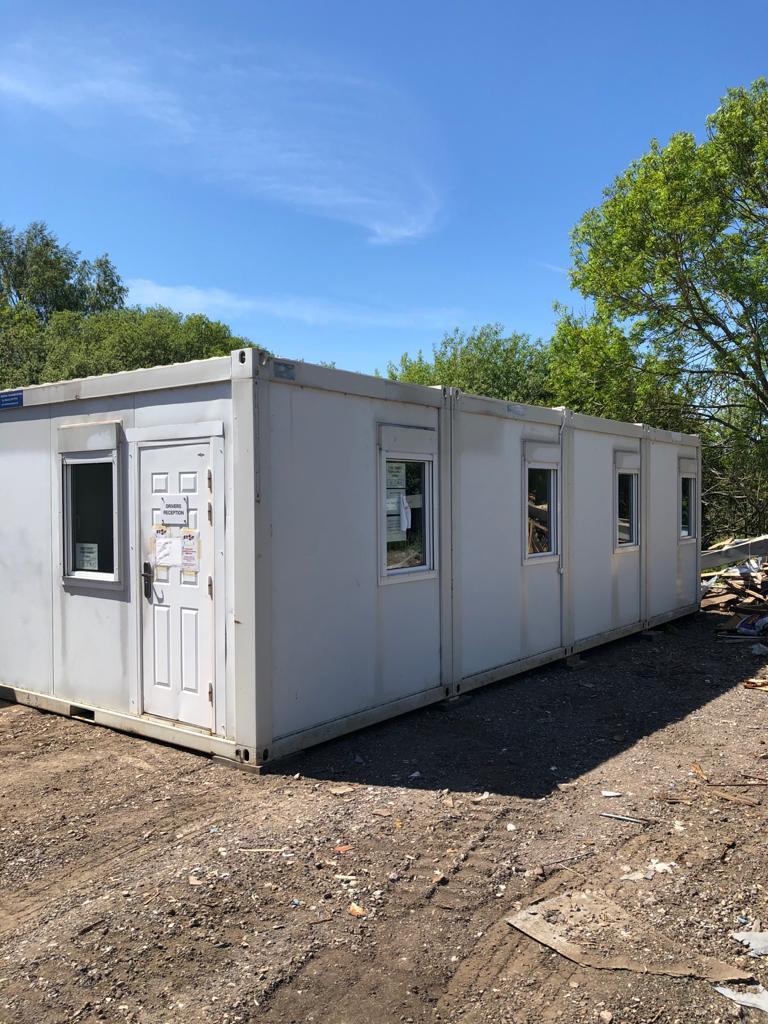 Used Modular Buildings - Four Bay Modular Office