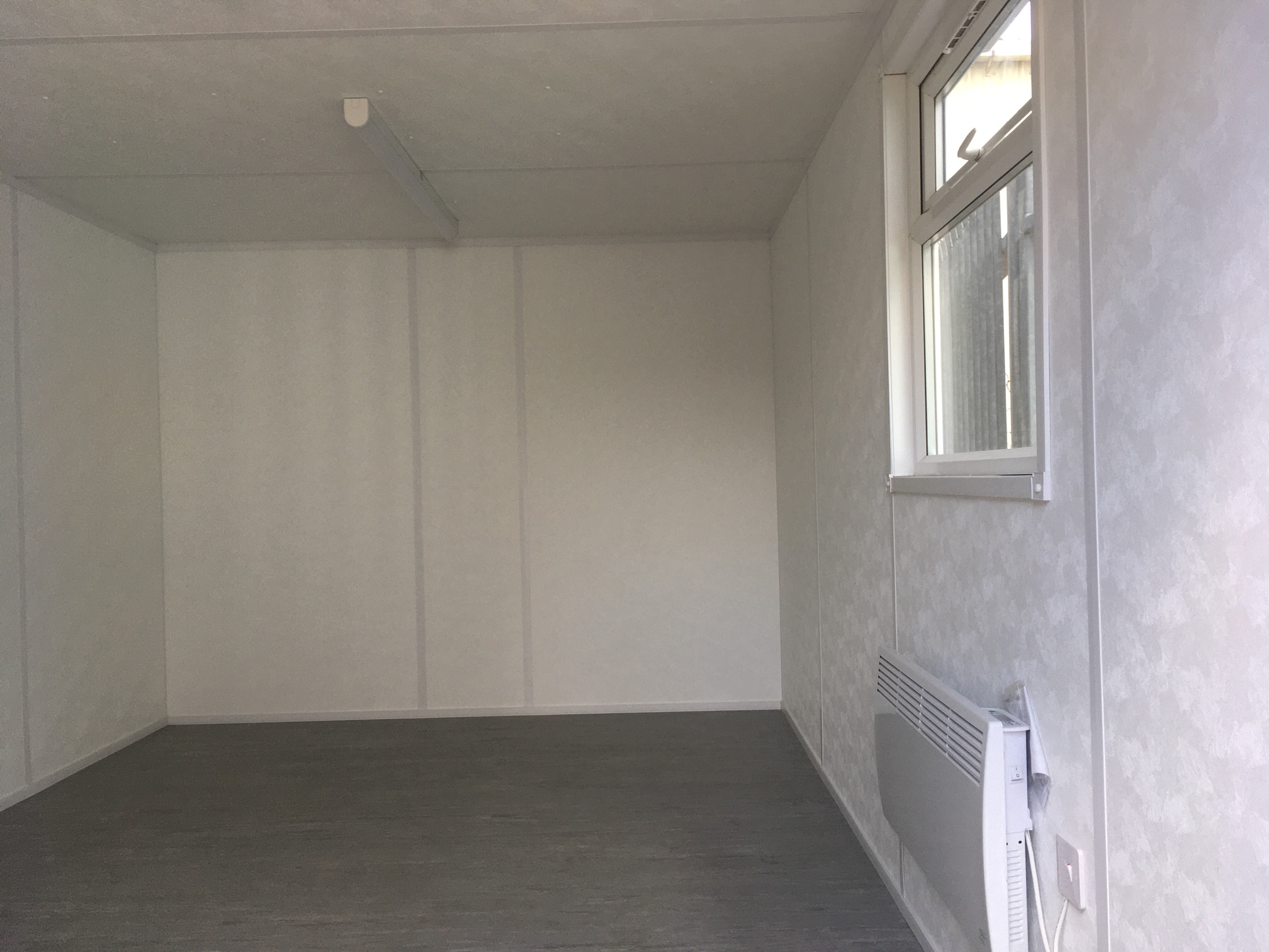 New Portable Cabins - 16' x 10' Open Plan Office