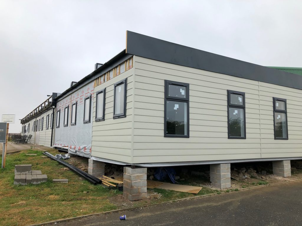 Modular Building, Cladding