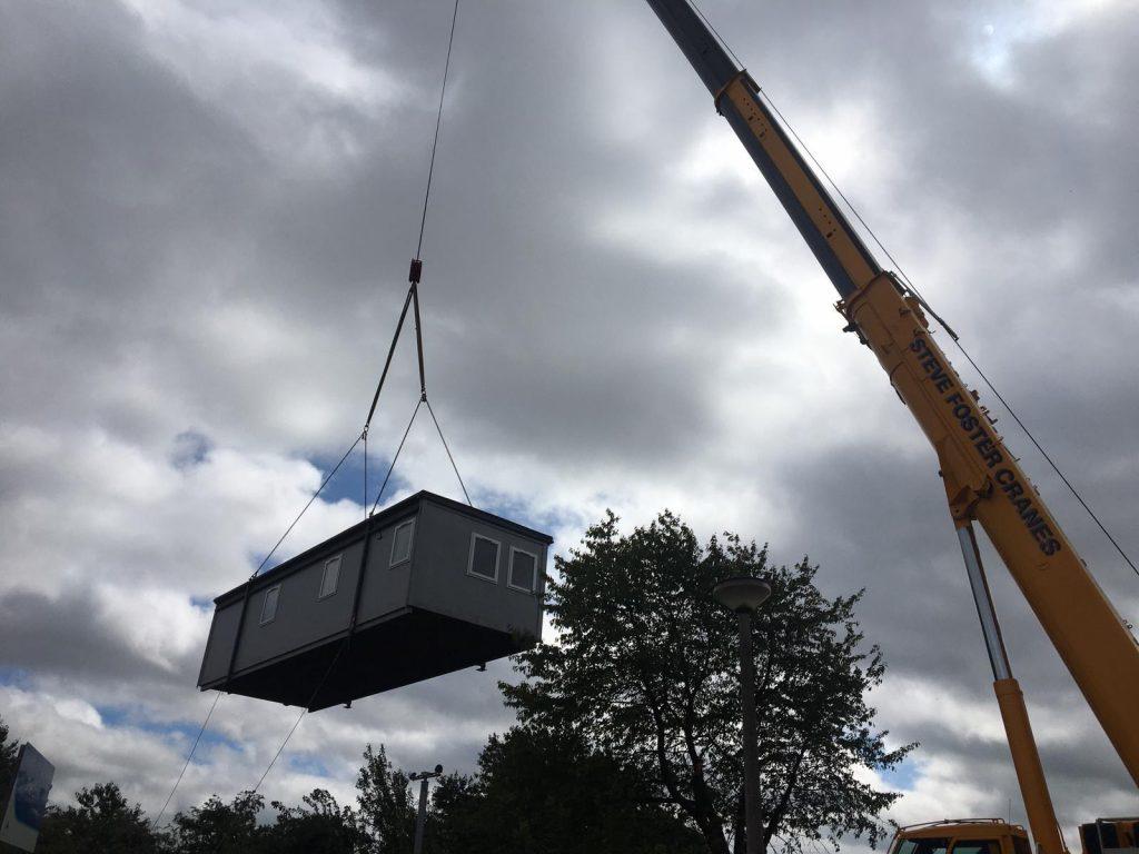 Modular Building Relocation