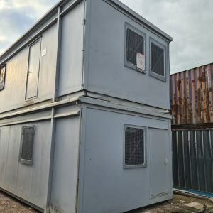 Double stack portable buildings