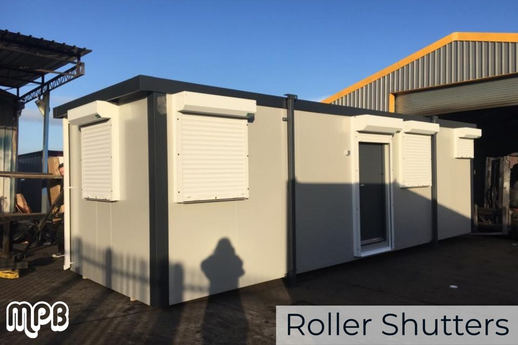 Roller Shutters for Portable Cabins