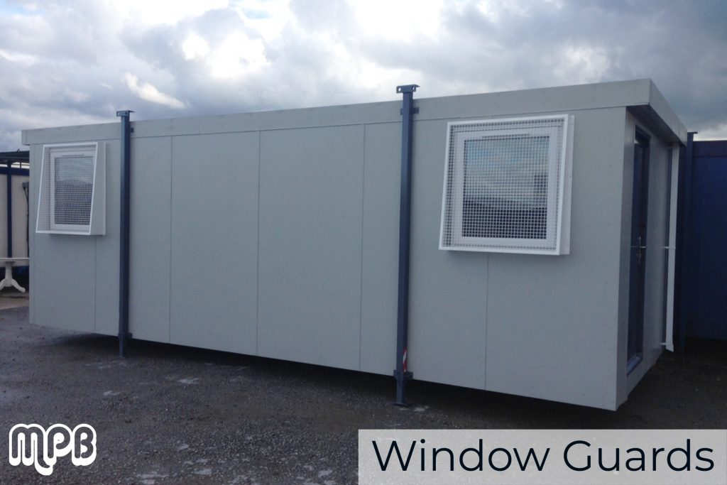 Window Guards for Portable Cabins