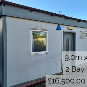 Used Modular Building - 2-Bay Office